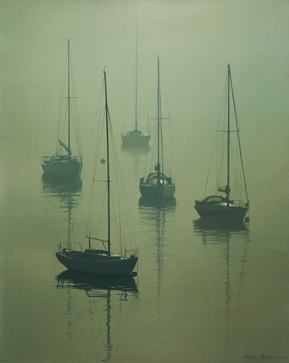 Misty Morning At Greenbank 800px